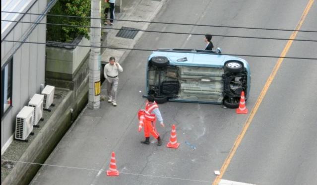 修復歴(事故)車かどうかの判断は損傷の状態で決まる