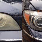 ヘッドライトの黄ばみ・くもり除去は「研磨」か「交換」で解決